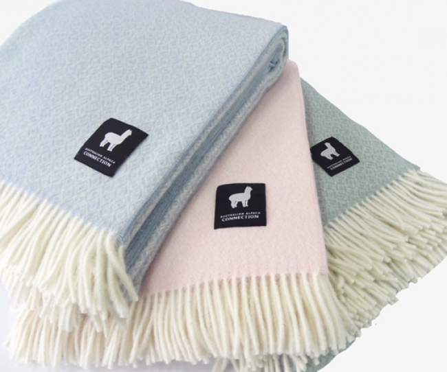 Alpaca Throw Rugs