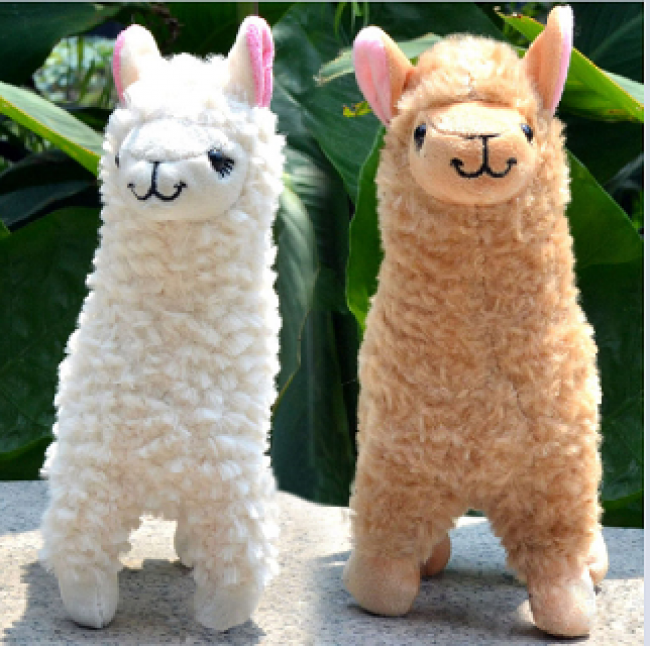 Alpaca Plush Toys - HUGGABLE
