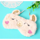 Alpaca Inspired Sleep Mask