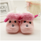 Alpaca Inspired Baby Shoes - Pink