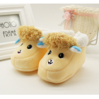 Alpaca Inspired Baby Shoes - Yellow