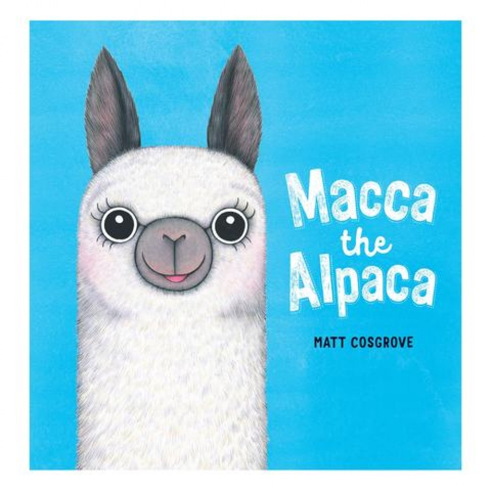 Book - Macca the Alpaca - Matt Cosgrove