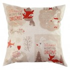 RubeyLiza Christmas Linen Cushion - 4 Images