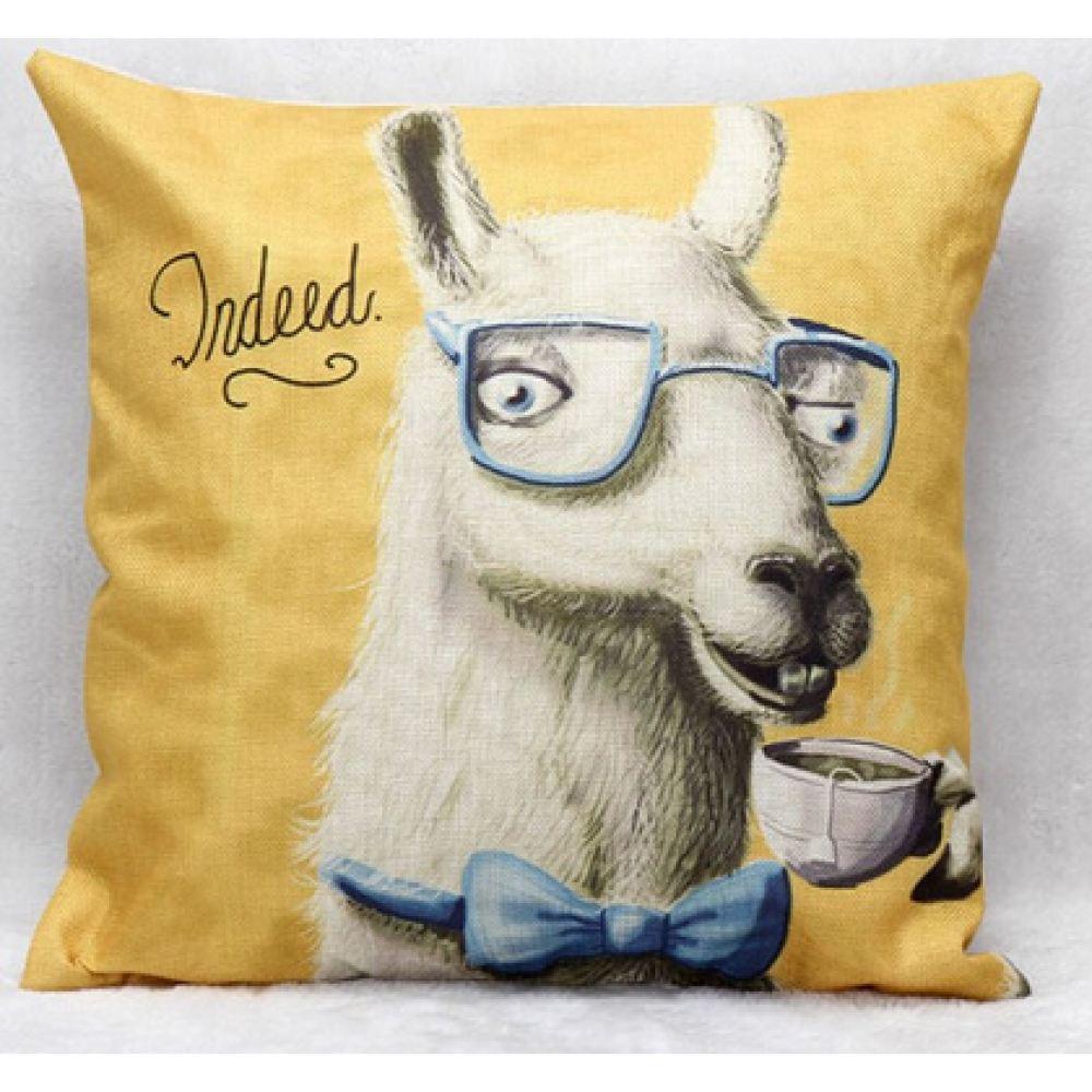 RubeyLiza - Animals - Llama Tea Time