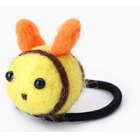 RubeyLiza Felted Hair Tie - Bumble Bee