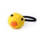 RubeyLiza Felted Hair Tie - Duck