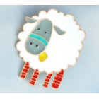 Sheep Brooch - Not Alpaca!