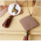 Original Handmade Alpaca Long Leather Necklace – Zakka Style Fashion