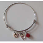 Alpaca Bangle - Love Alpacas