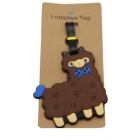 ALPACA THE BAG - Luggage Tags - Brown