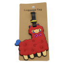 ALPACA THE BAG - Luggage Tags - Red