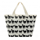 Alpaca Printed Canvas Lunch Bag