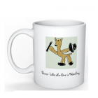 Coffee Mug - Dancing Alpaca