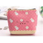 Alpaca Pink Coin Purse