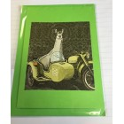 Alpaca Greeting Cards - Llama Cycle