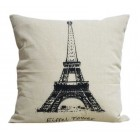 RubeyLiza Eiffel Tower Cushion 45x45cm