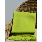 Alpaca Woven Throw Rug - Lime