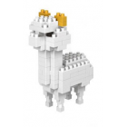 Alpaca Nano Blocks - White Alpaca