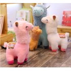 Plush Alpacas - Coloured Saddle - Rosie, Madonna , Cinnamon & Snowy