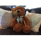 "RubeyLiza - Alpaca Filled ""Honey Bear"" Teddy Bear"