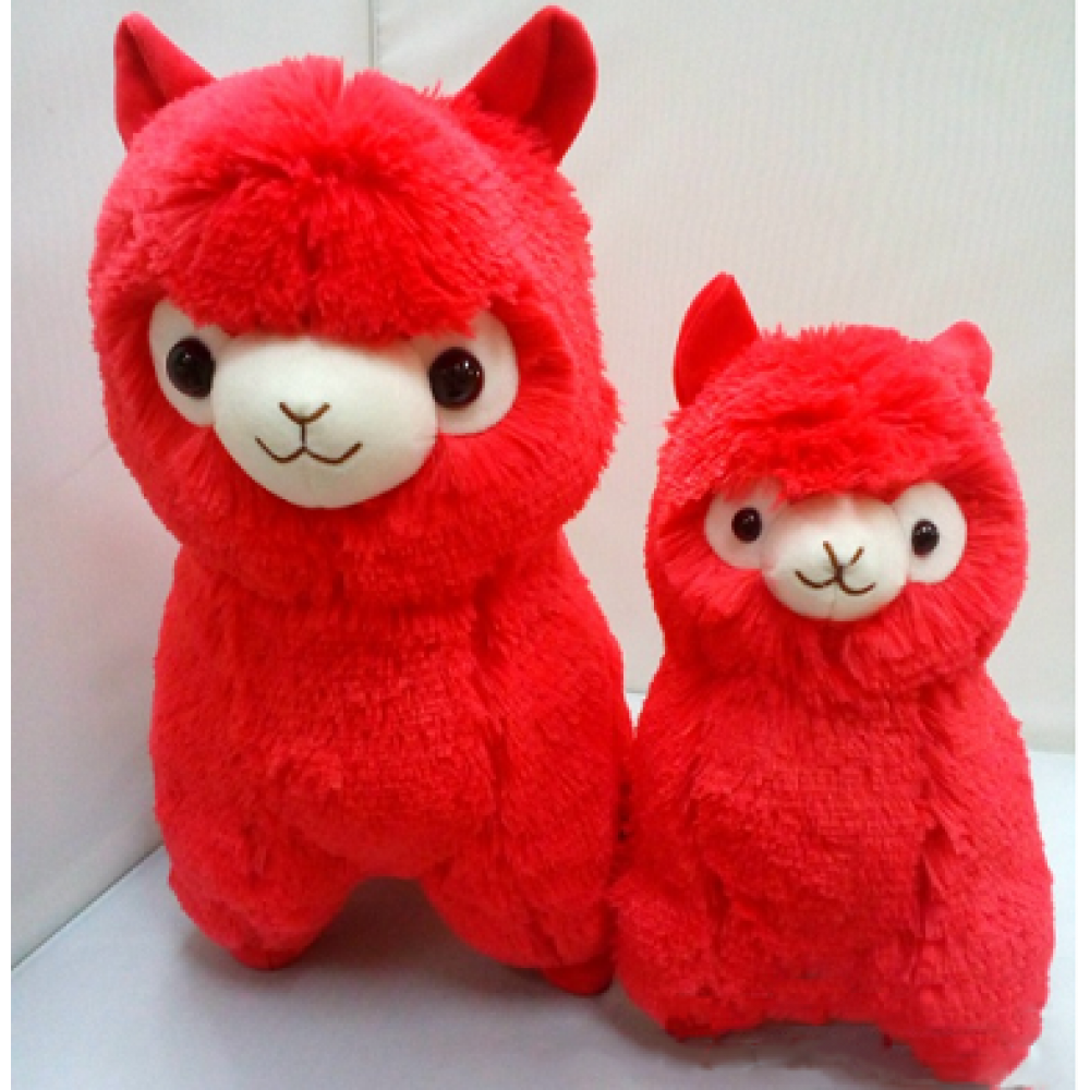 """Redmond"" - The Red Alpaca - Height - 35cm"