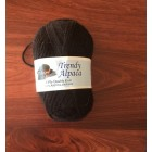 """Trendy Alpaca Yarn"" -  Alpaca-Organic Merino Blend.  NATURAL BLACK 8PLY"