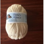 """Trendy Alpaca Yarn"" -  Alpaca-Organic Merino Blend.  NATURAL WHITE 8PLY"