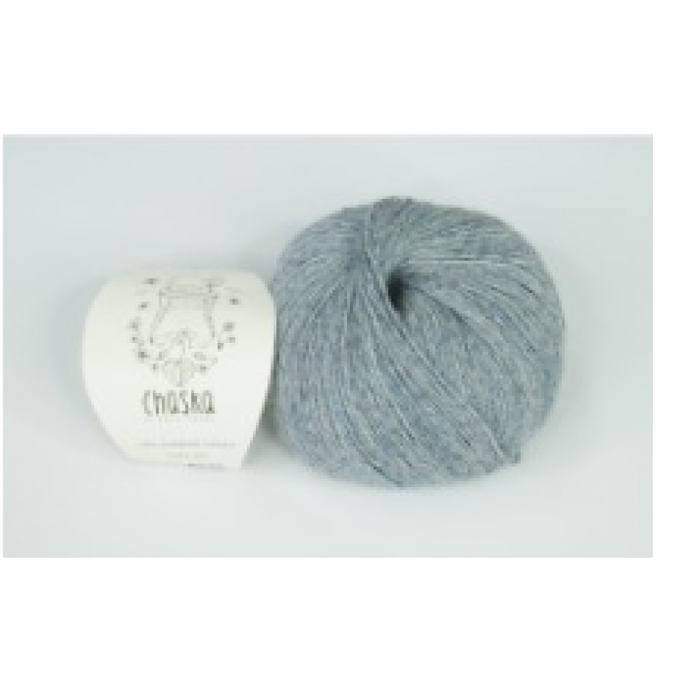 "100% Superfine Alpaca ""Chaska Blue "" 4 ply"
